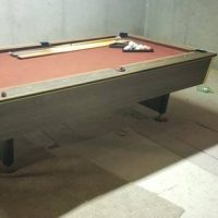 One Piece Solid Slab 9' Pool Table