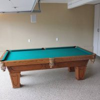 Three Piece Slate Pool Table