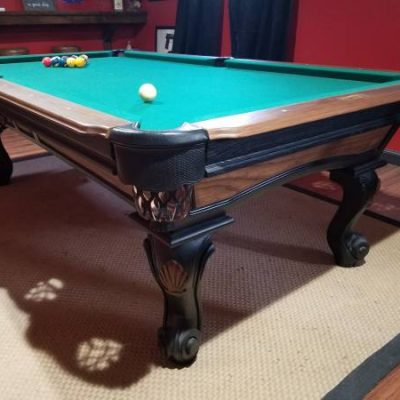 8-ft Solid Wood Billiard Table Connelly Sedona