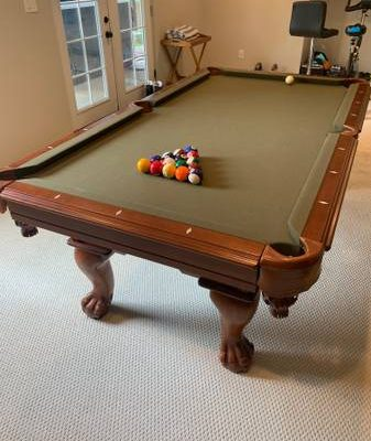 Hand Crafted Legacy 7 foot Pool Table