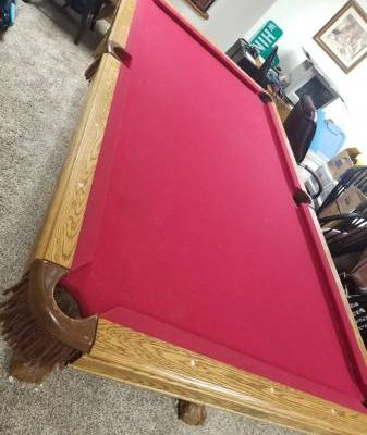 Centrespot Pool Table 8ft