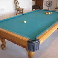 High-end Olhausen 9 Foot Pool Table