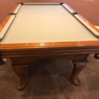 Solid Wood Pool Table & Ping Pong Top