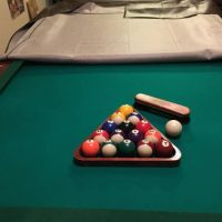 Sportscraft 7.5' pool table