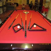 C.L. Bailey co. Pool Table