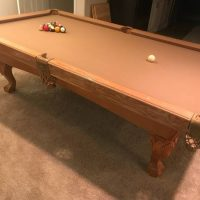 Solid Wood Camelot Pool Table