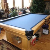 FS Gorgeous 8' Gandy Maple Pool Table