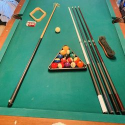 Lightly used 8 foot Brunswick Series Pool Tables
