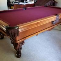 8' Delta A.E. Schmidt Pool Table For Sale