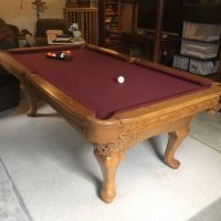 7' Connelly Delmar Conversion Pool Table