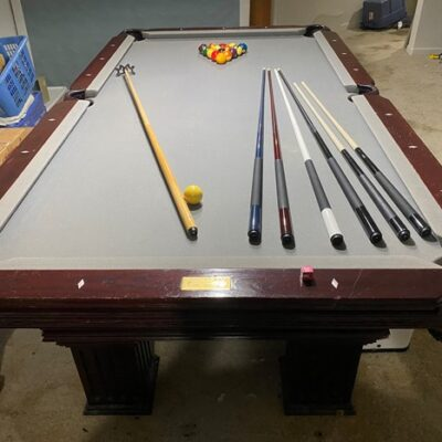 Connelly 3 piece slate pool table