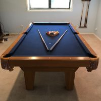 8 foot used table in excellent condition.