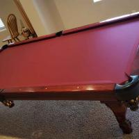 9 ft AE Schmidt Aires Maple Pool Table - Excellent Condition