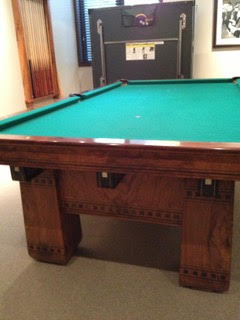 Brunswick Antique Alexandria Pool Table
